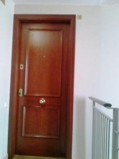 pintado alrededor de puertas