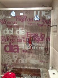 puerta ducha