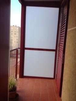 rejas y separadores de balcones